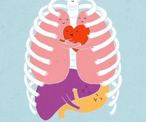 hug, heart, and body image