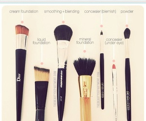 beauty, Brushes, and dior image