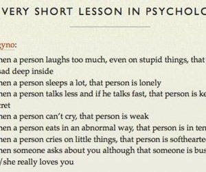 psychology, sad, and lesson image