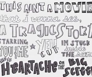 5sos, 5 seconds of summer, and Lyrics image