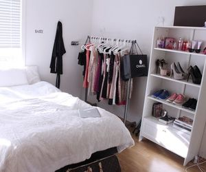 bedroom, home, and chanel image