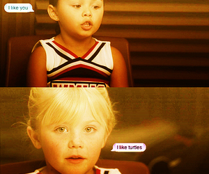 blond, brittany, and glee image