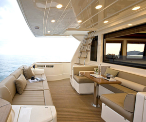 luxury, yacht, and boat image