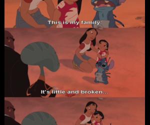 family, stitch, and disney image