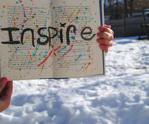 book, inspirational, and inspire image