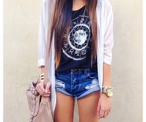 cardigan, clothes, and outfit image