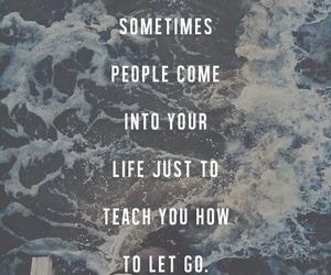 quote, let go, and life image