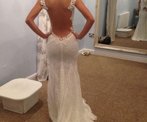 sexy and wedding dress image