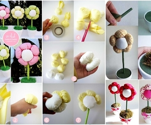 diy, flowers, and how to image