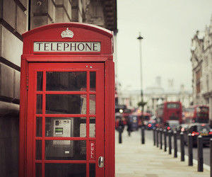 london, Dream, and telephone image