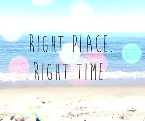 beach, time, and place image