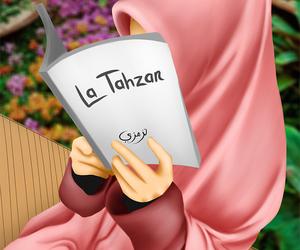 drawing muslimah image