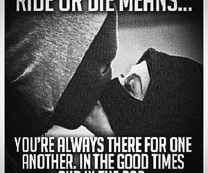 love, ride or die, and couple image
