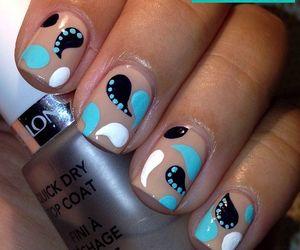 nails, cute, and uñas image