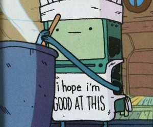 bmo, adventure time, and cooking image