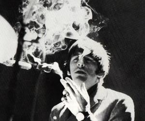 ringo starr, the beatles, and smoke image