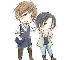 kisa, sekaiichi hatsukoi, and yukina image