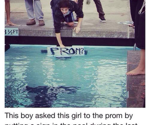 Prom and swimmer image