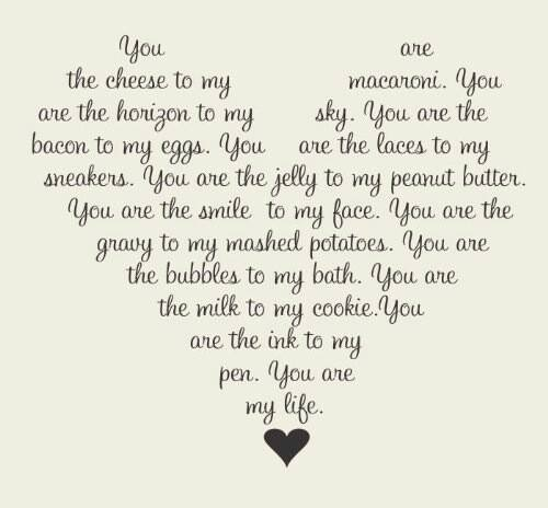 Cute adorable love quotes