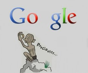 google and gollum image