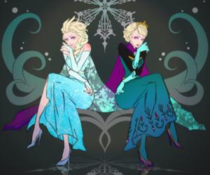 disney, frozen, and elsa image