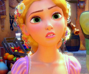 rapunzel, tangled, and cute image