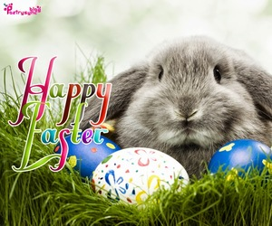 ostern, easter sunday, and easter wishes image