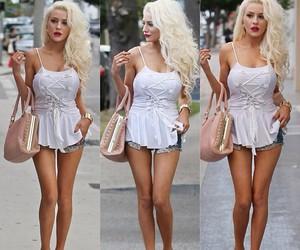 beautiful, girl, and street fashion image