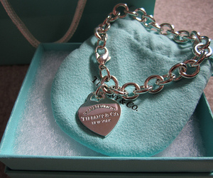 bracelet, tiffany, and pink image