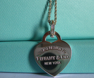 tiffany, necklace, and heart image