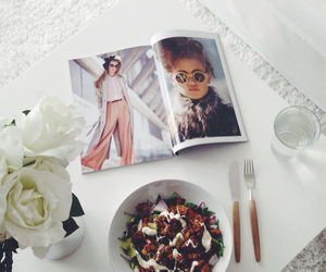 clean, dinner, and fashion image