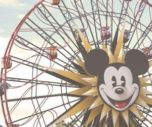 disney, disneyland, and mickey mouse image