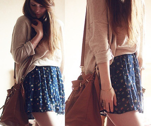 clothes, purse, and cute image