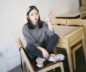 kfashion, korean, and ulzzang girl image