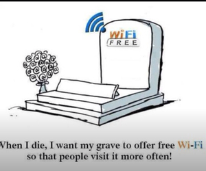 wifi, funny, and die image