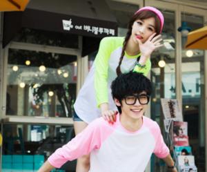 korean and ulzzang couple image