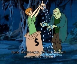 scooby doo, funny, and ugly image