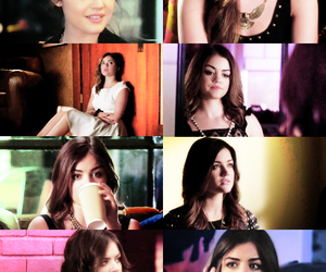 lucy hale, pll, and aria montgomery image
