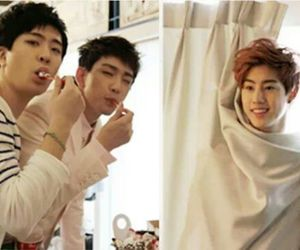 kpop, mark, and bambam image