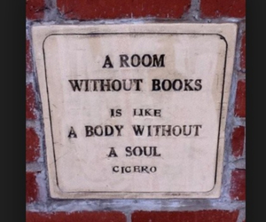 books, quote, and room image