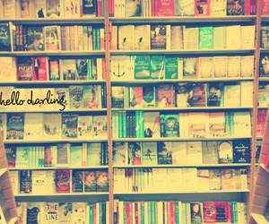 bookcase, darling, and hello image
