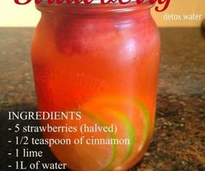 drinks, fitness, and healthy image