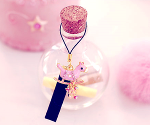 pink, cute, and bottle image