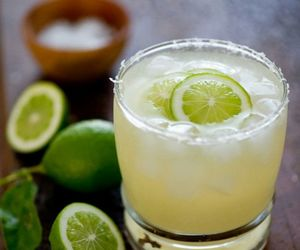 drink, lime, and lemon image