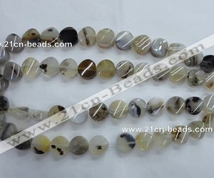 discount agate beads, grey agate gemstone beads, and loose agate beads image