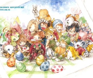 digimon and anime image