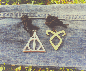 deathly hallows, harry potter, and shadowhunters image