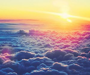 clouds, colors, and free image
