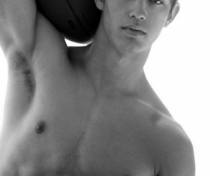abercrombie and fitch, Hot, and six pack image