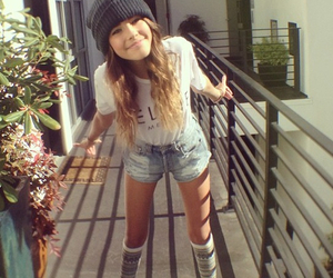 madison beer, girl, and shorts image